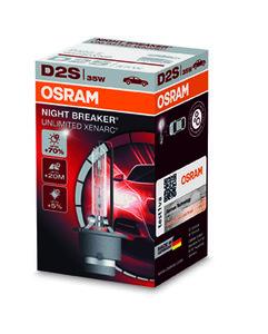 Osram D2s Nightbreaker 66240XNB  70% de lumière - 44,95 €