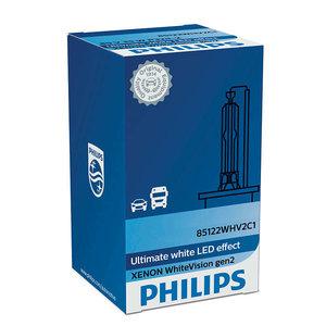 Philips Xénon D2S WhiteVision 85122WHV2 gen2 Effet LED - 65,27 €
