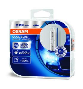 Osram D1s Cool Blue Intense Duobox 66140CBI-HCB - 118,45 €